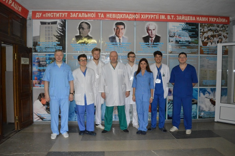 Students from Poland have had an internship at the School of Medicine of V. N. Karazin Kharkiv National University