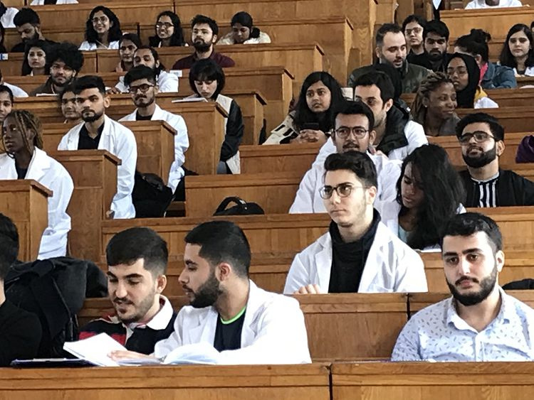 An open lecture was for students of the 2nd year of «Hygiene and Ecology»