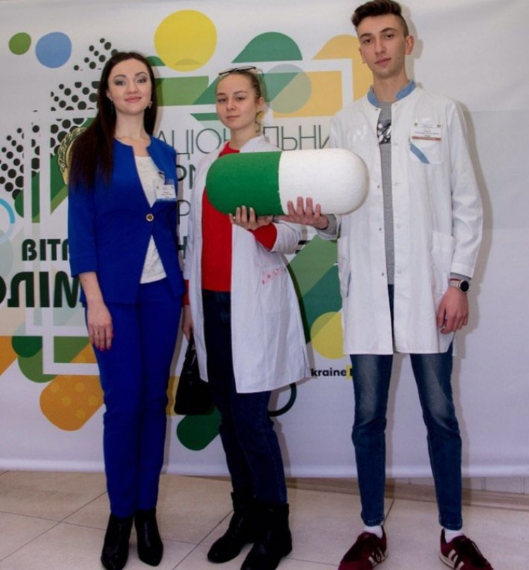"Students of the School of Medicine - participants of the II stage of the All-Ukrainian Olympiad in the discipline ""Pharmacology"""