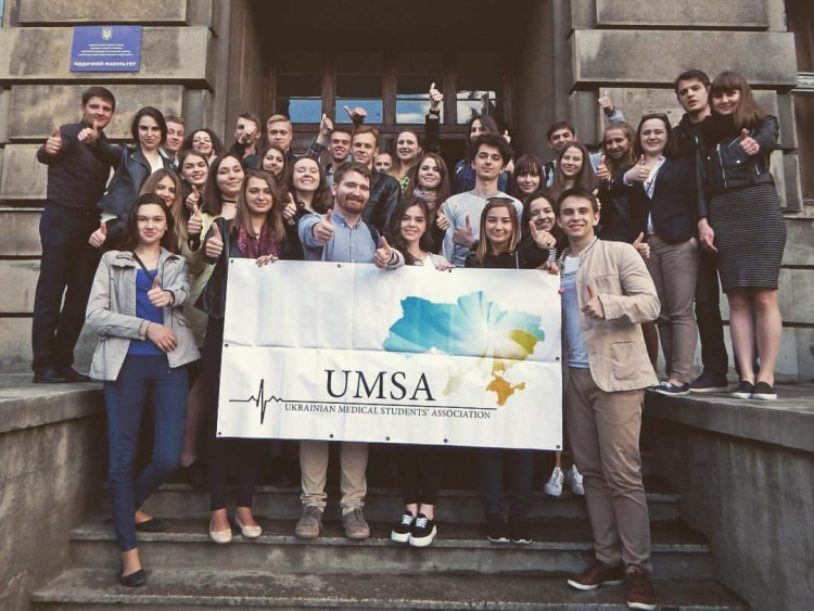 "Students of the School of Medicine participated in the II International Forum of Medical Students ""UMSA Carpathian Forum"""