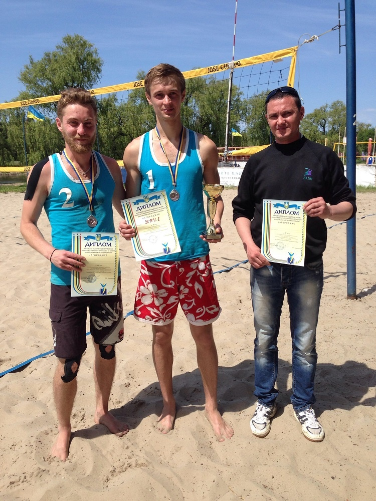 Students of the School of Medicine - prize-winners of the annual regional competitions in beach volleyball