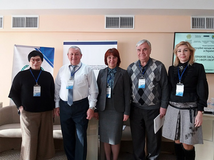 Instructors of the School of Medicine are participants of the medical-legal forum