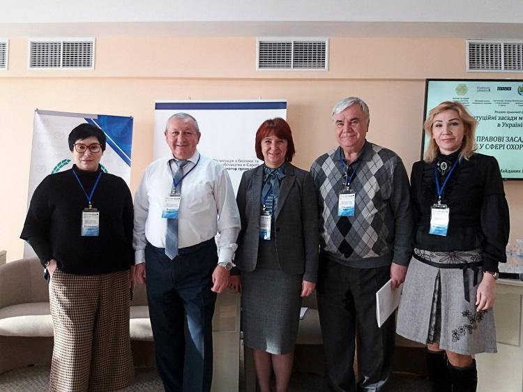 Викладачі медичного факультету – учасники медико-правового форуму