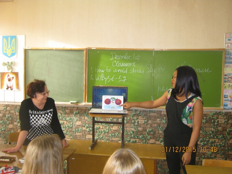 Students of the School of Medicine talked with schoolchildren about a healthy lifestyle