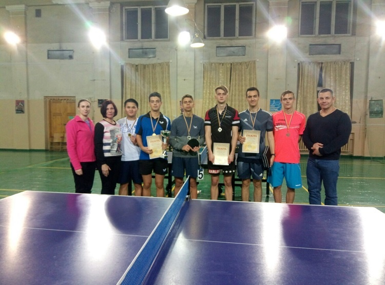 Competitions in table tennis in the course of University Students Games