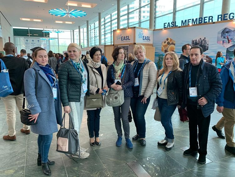 Instructors of the School of Medicine - participants of the 34th International Congress on the Study of Liver Diseases (Vienna, Austria)