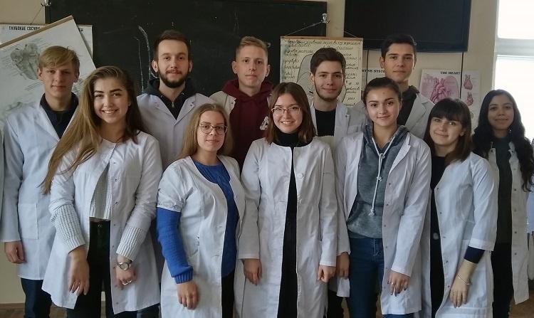 Очередное заседание студенческого научного кружка кафедры анатомии человека