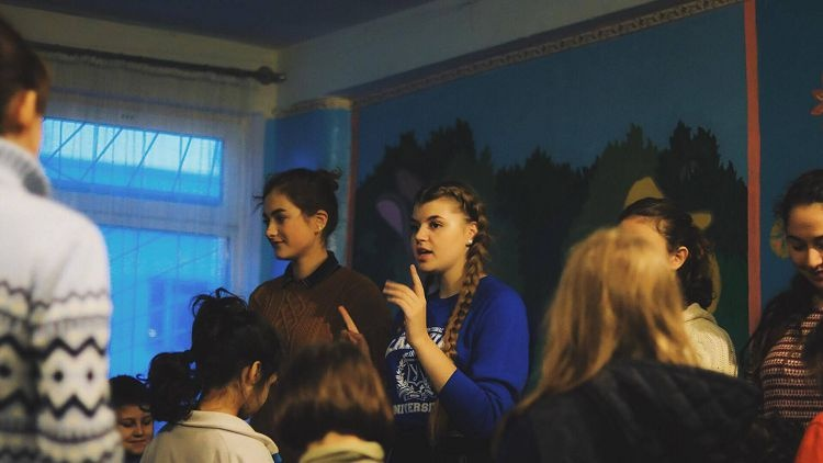 Students of the School of Medicine - organizers of a charity event for children-patients of Kharkiv Regional Clinical Psychiatric Hospital No. 3