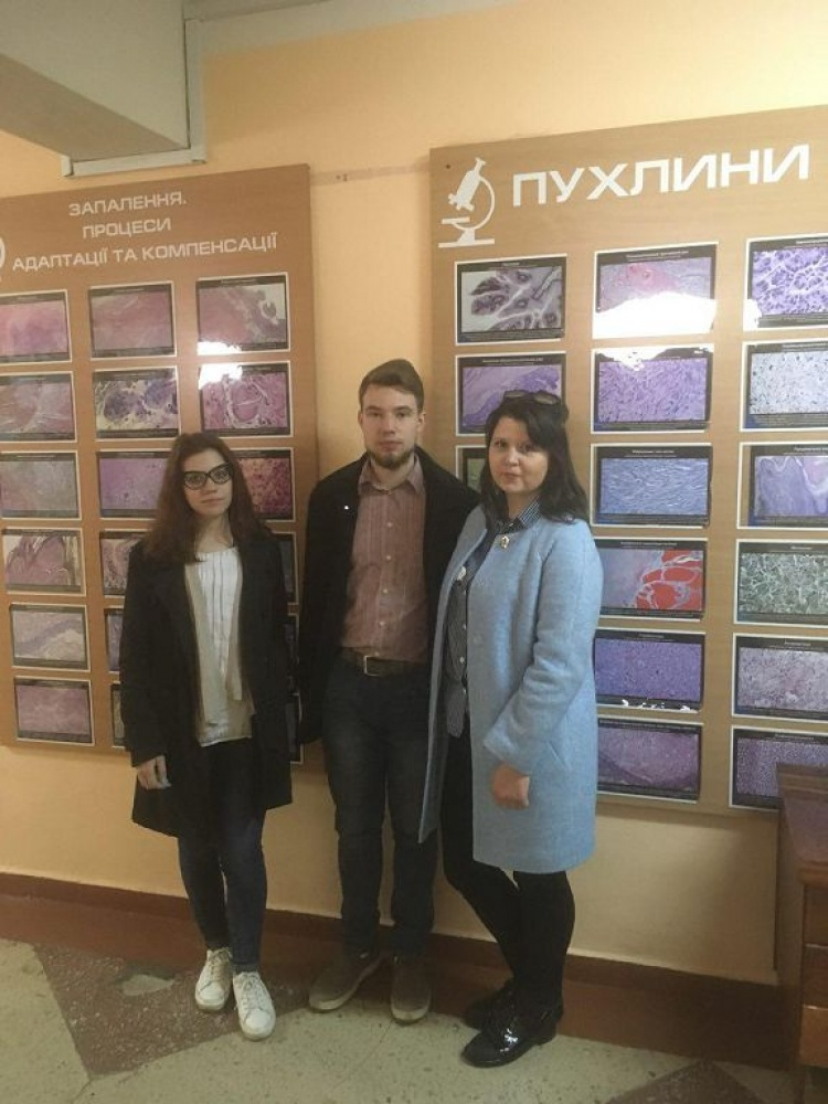 "Students of the School of Medicine to have participated in the II stage of All-Ukrainian Students' Olympiad in the discipline ""Histology, Cytology and Embryology"""