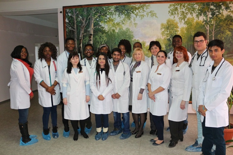 Photo report on the work of student scientific team of the Department of Pediatrics