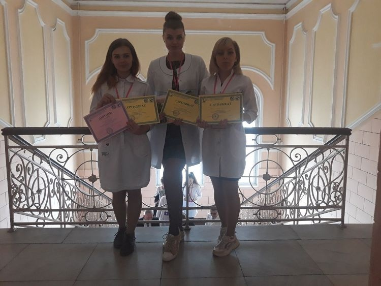 Students of the School of Medicine are participants of the All-Ukrainian Students Olympiad in Infectious Diseases