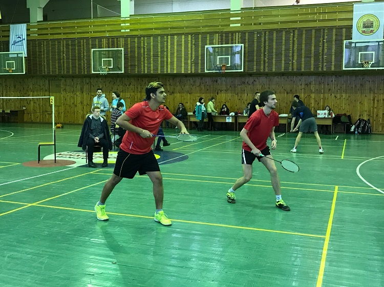 Students of the School of Medicine - participants and prize-winners of the Spartakiad of the Higher Educational Institutions in Badminton