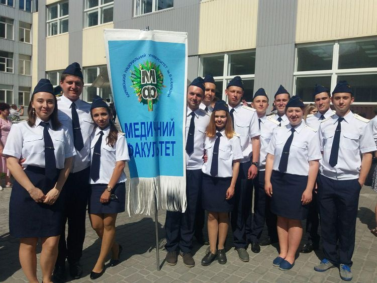 Students of the School of Medicine took the military Oath of Allegiance to the people of Ukraine