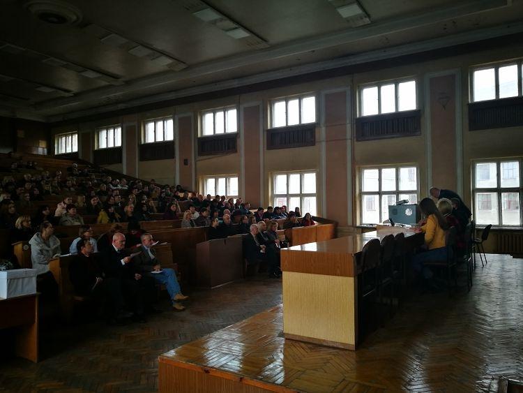 Конференція трудового колективу медичного факультету
