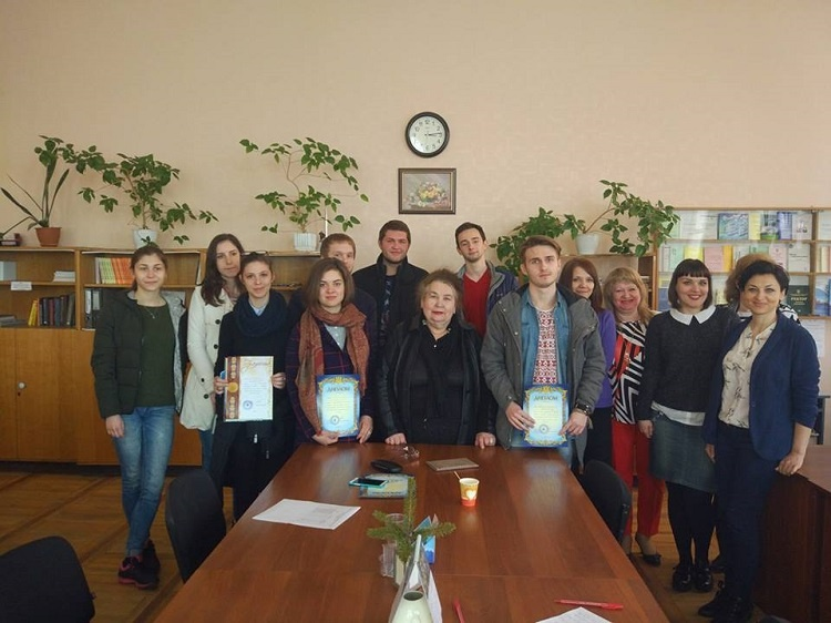Student of the School of Medicine - winner of the II stage of the All-Ukrainian student competition in German language