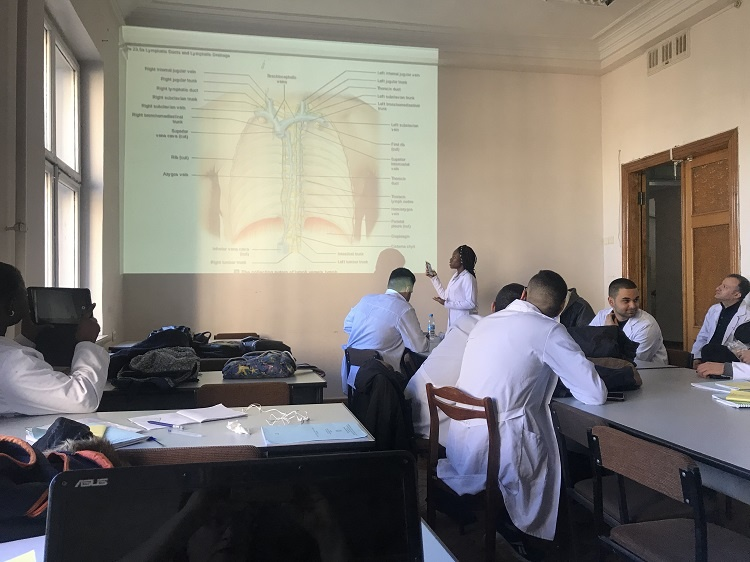 Another meeting of the Students' Scientific Society of the Department of the Human anatomy