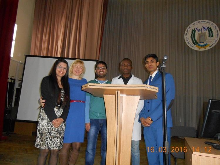 Студенты медицинского факультета приняли участие в научно-практической конференции молодых ученых