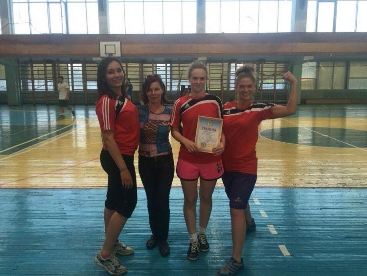 Жіноча команда медичного факультету з баскетболу – переможець студентської Спартакіади!
