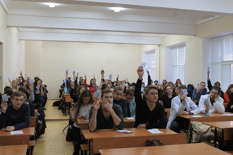 24 ноября 2016 года на медицинском факультете проведена отчетно-выборная конференция Профбюро студентов, аспирантов и докторантов медицинского факультета