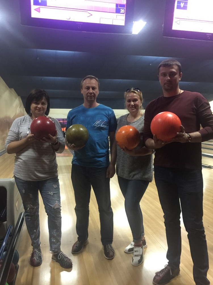 "Employees of the School of Medicine - prize-winners of the qualifying round of bowling competitions ""Trade Union Bowl III"""