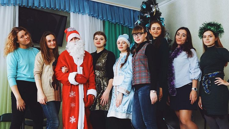 "The students of the School of Medicine are organizers and participants of the charity event for the children of the CE ""Kharkiv Regional Center of Social and Psychological Help ""Nadiya"""
