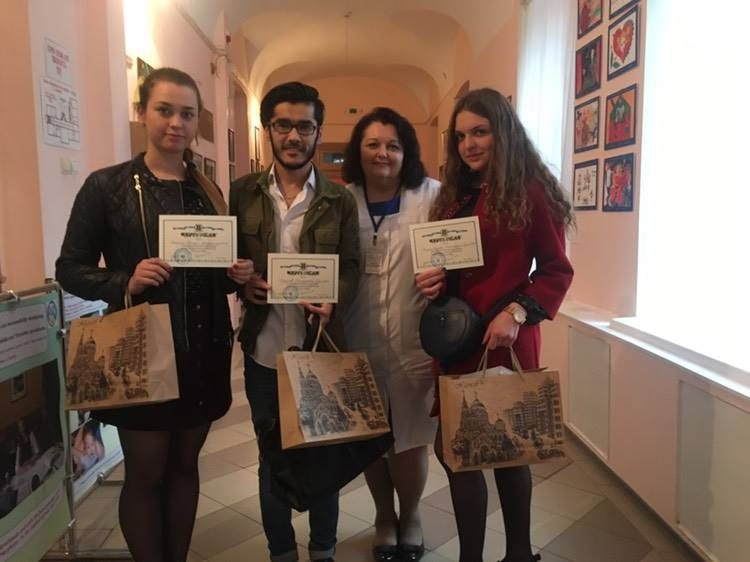 Студенти медичного факультету – учасники Всеукраїнської студентської олімпіади з медичної генетики