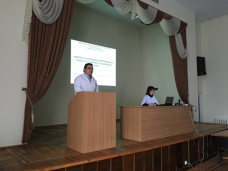 Презентація клінічного випадку пацієнта з недиференційованим утворенням правого передсердя