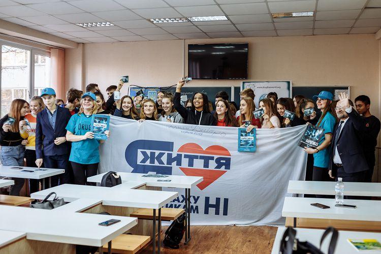 Студенти наукового гуртка кафедри гігієни та соціальної медицини виступили перед учнями гімназії №14