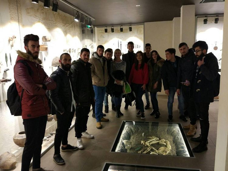 Curator's hour: students of the School of Medicine visited the museum of archeology