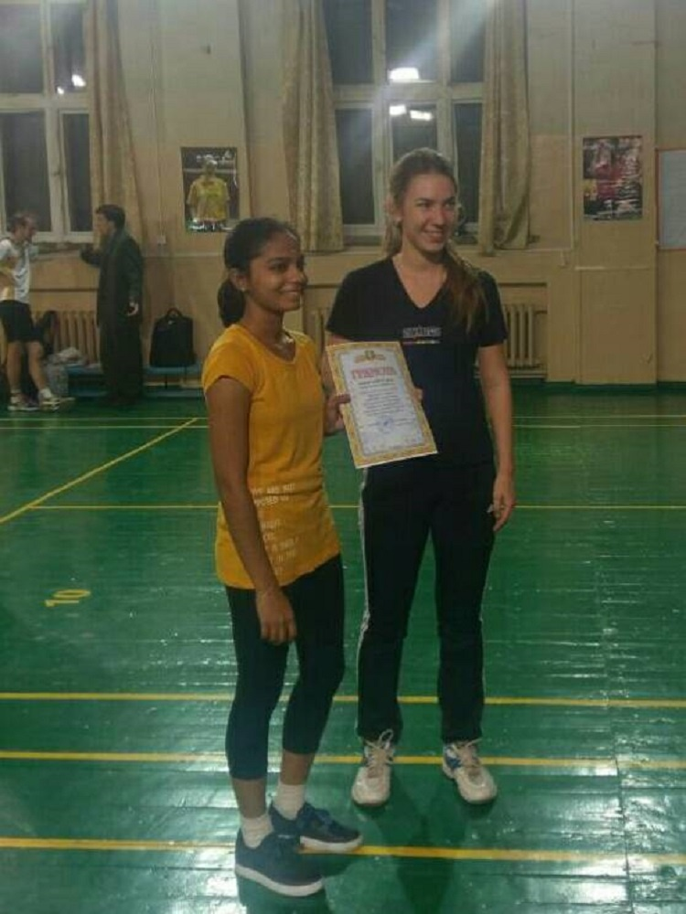 Students of the School of Medicine are winners of Badminton Competition in the course of Students' Games in Karazin University