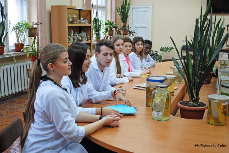 "The second photo report ""Student weekdays"" of Y. Fedorenko"