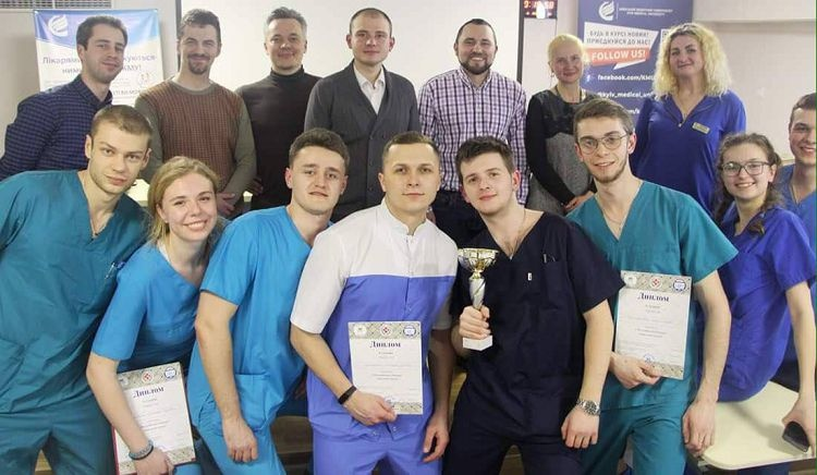 Students of the School of Medicine to have won prizes of the V Allukrainian Contest in Practical Surgery (Kyiv, Ukraine)