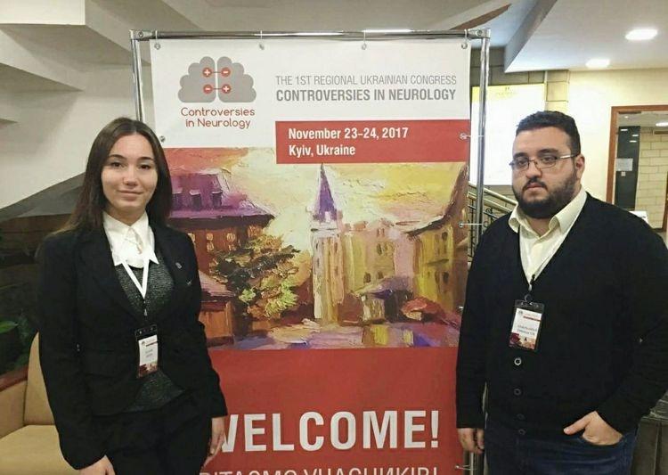 Студенти медичного факультету – учасники Першого неврологічного конгресу «Controversies in Neurology»