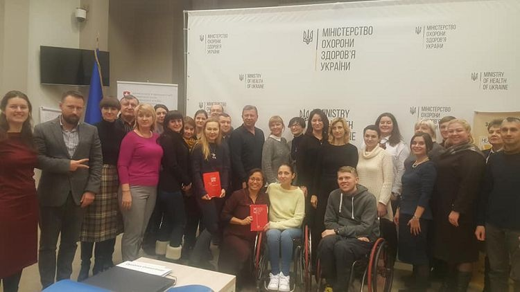 Employees of the School of Medicine - participants in the training of future couches on the International Classification of Functioning, Disability and Health