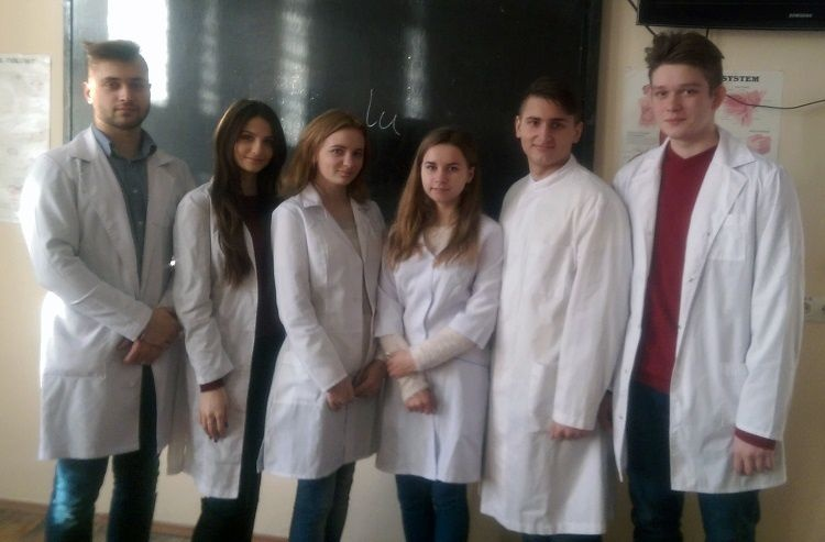 The student seminar was on the basis of the student scientific society of human anatomy