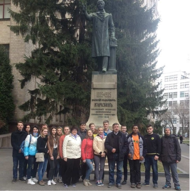 Students and staff of the School of Medicine took part in the All-Ukrainian Day of Improvement