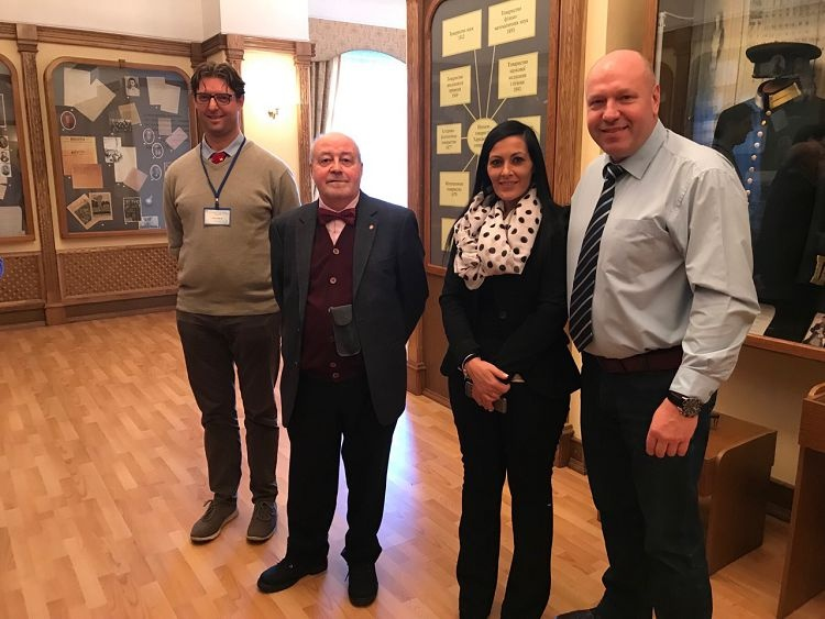 "A visit to Karazin University by the delegation from ""Sapienza"" University of Rome"