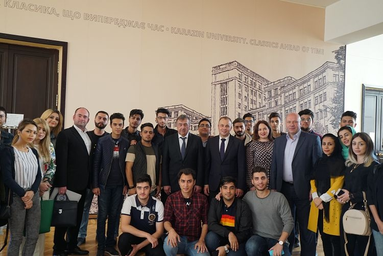 Working visit of the Deputy Minister of Education and Science of Ukraine R. V. Greba to the University