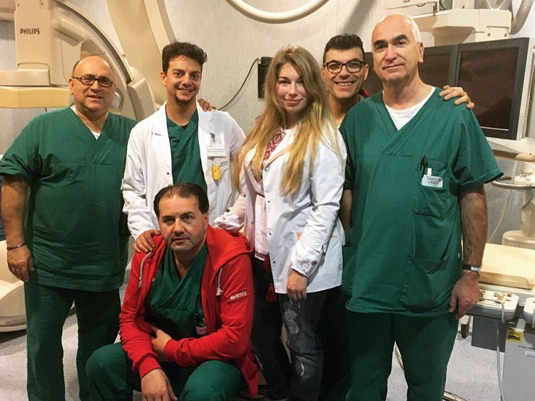 Student of the School of Medicine was an exchange student at the University of Foggia (Foggia, Italy)