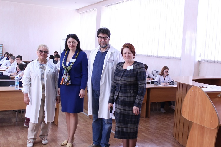 Викладач медичного факультету – член журі ІІ етапу Всеукраїнської олімпіади з дисципліни «Біологія» та голова журі напряму «Генетика»