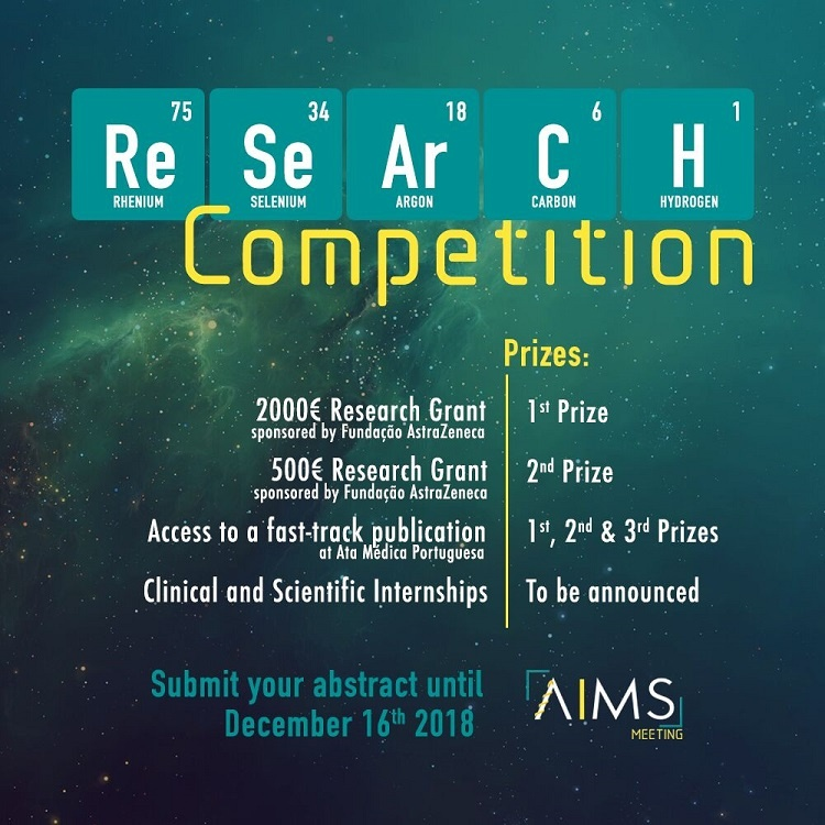 The AIMS abstract submission form for the Research Competition is NOW OPEN!