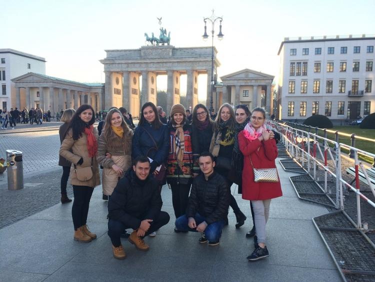 Студенти медичного факультету – учасники міжнародної програми «Mit Zuversicht in die Zukunft!»