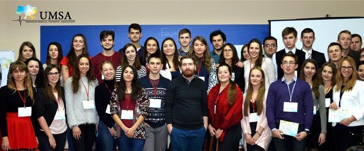 На медичному факультеті відбулася VI Національна асамблея ГО «Всеукраїнська молодіжна асоціація студентів-медиків»