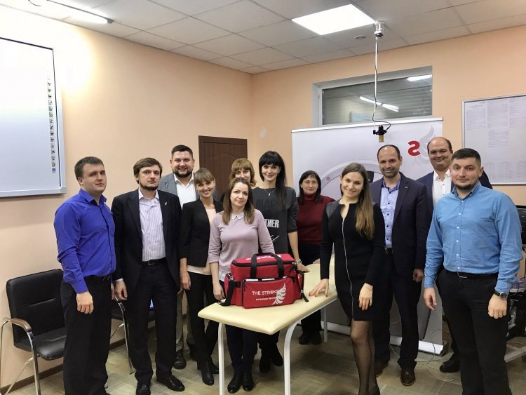 The instructor of the School of Medicine became the trainer of the first Ukrainian Stroke Simulation Center (Poltava)