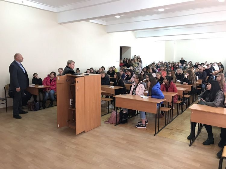 Open Day at the School of Medicine of Karazin University
